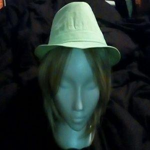 Accessories - Fedora green hat